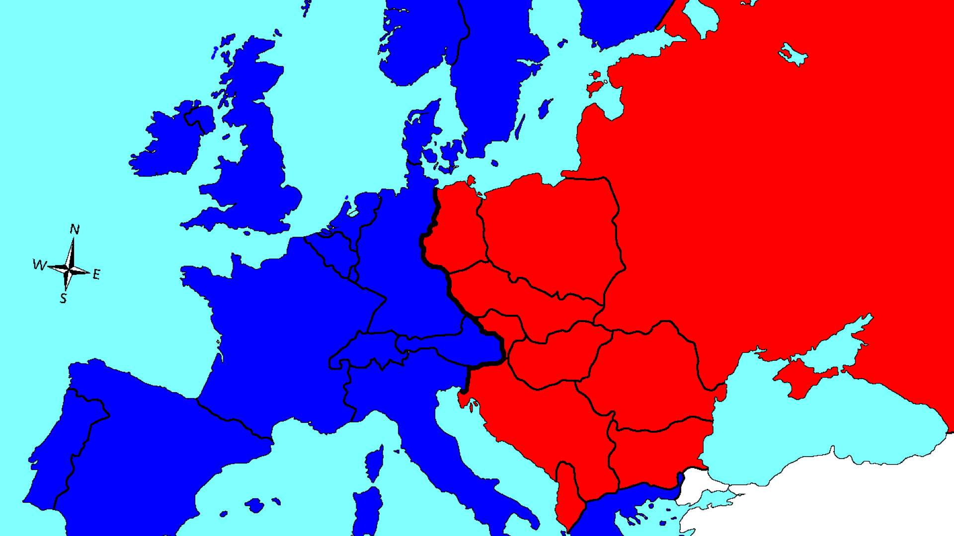 a history of the iron curtain of europe Frontis the approximate location of the iron curtain is shown on a map of western and eastern europe chelsea house publishers vp, new product development sally cheney director of production kim shinners.